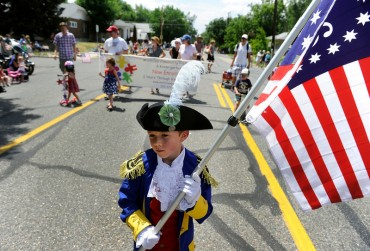 The fourth annual Park Hill 4th of July Parade.
