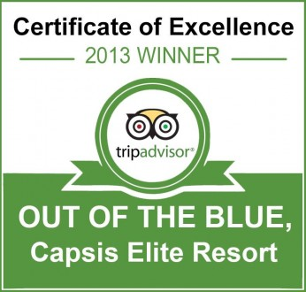 2013-08-01_01_Out of the Blue CAPSIS Certificate of Excellence Tripadvisor