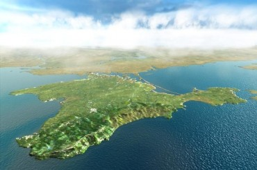 2013-08-20_01_Crimea Crimean Peninsula Map Ukraine