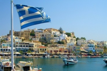 2013-10-18_01_Greece Flag Island Sea
