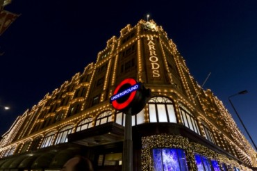 2013-11-11_05_London Christmas Harrods UK Great Britain
