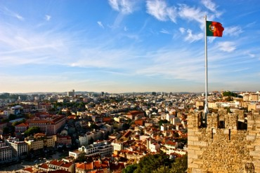 2013-11-20_05_Lisbon Portugal Panoramic View Fortress