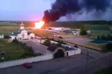 2014-06-03_01_Lugansk Luhansk Fight Strike Combat Ukrainian Border Guard Against Terrorists From Russia