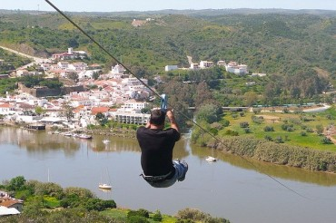 2014-07-01_03_Spain Portugal Zipline Over River Sanlucar de Guadiana Alcoutim