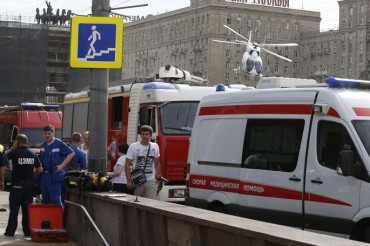 2014-07-15_04_Underground Metro Moscow Wounded Resque Teams Emergency 1