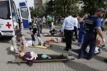 2014-07-15_04_Underground Metro Moscow Wounded Resque Teams Emergency 2