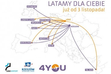 2014-08-04_02_4you Airlines Poland Flights Route Map