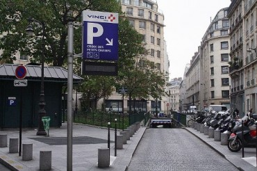 Paris Car Park Parking France Street