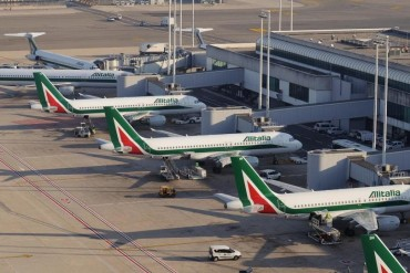 2014-09-07_06_Rome Fiumicino Airport Italy Alitalia Airlines Aircraft Passenger Jet