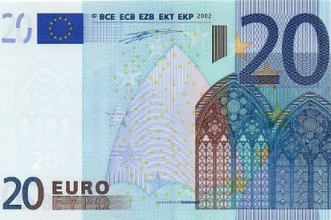 2014-12-22_01_20 Twenty Euro Note New Banknote Bank Note Europe