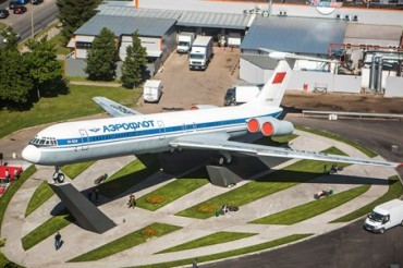 2015-06-14_02_Sheremetievo Airport Aircraft Monument Moscow Russia