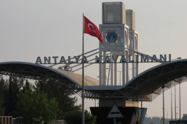 Antalya Airport Turkey