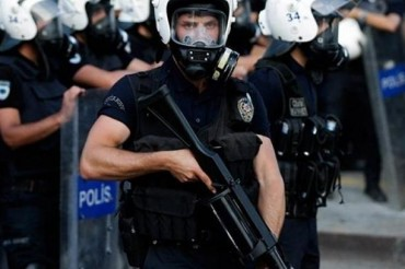 Turkey Police Armed
