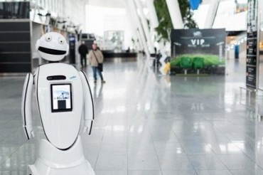 Wroclaw Robot Airport Poland
