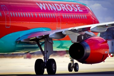 Windrose Airlines Ukraine Passeger Jet Aircraft
