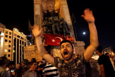 Armed Coup Takeover Turkey