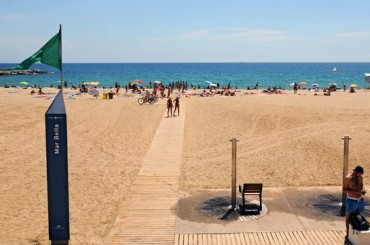 Mar Bella Barcelona Beach Spain