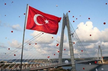 Turkey Istanbul New Bridge