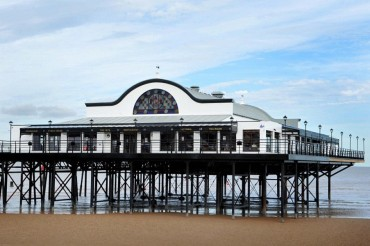 Cleethorpes Pier UK Great Britain Sea Shore Coast