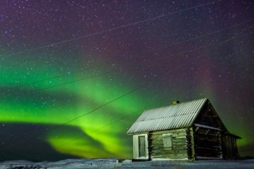 Northern Light Sky House Finland