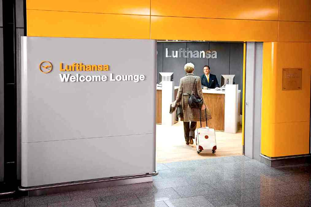 Lufthansa Welcome Lounge Business Class