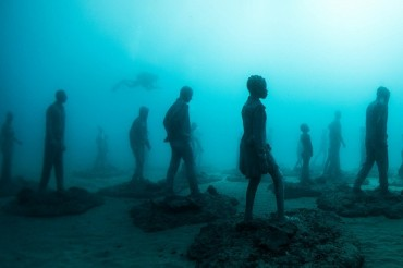 Underwater Museum Canary Islands Spain