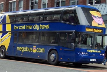 Megabus Bus UK Great Britain