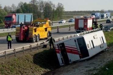 Poland Bus Crash Accident